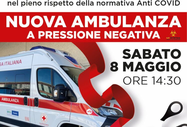 Presentazione nuova ambulanza in streaming